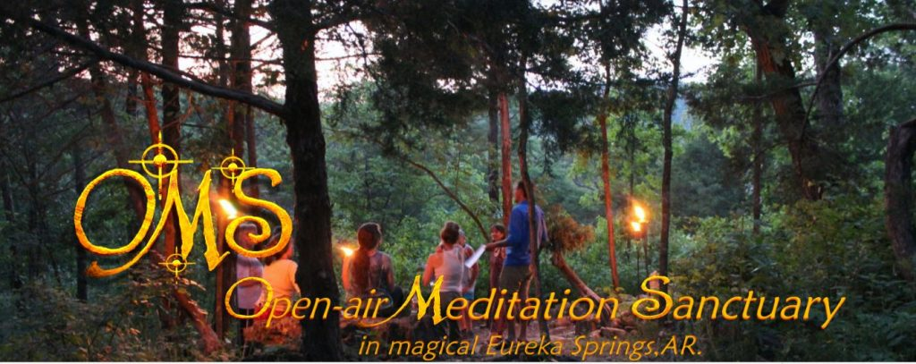 open air meditation sanctuary